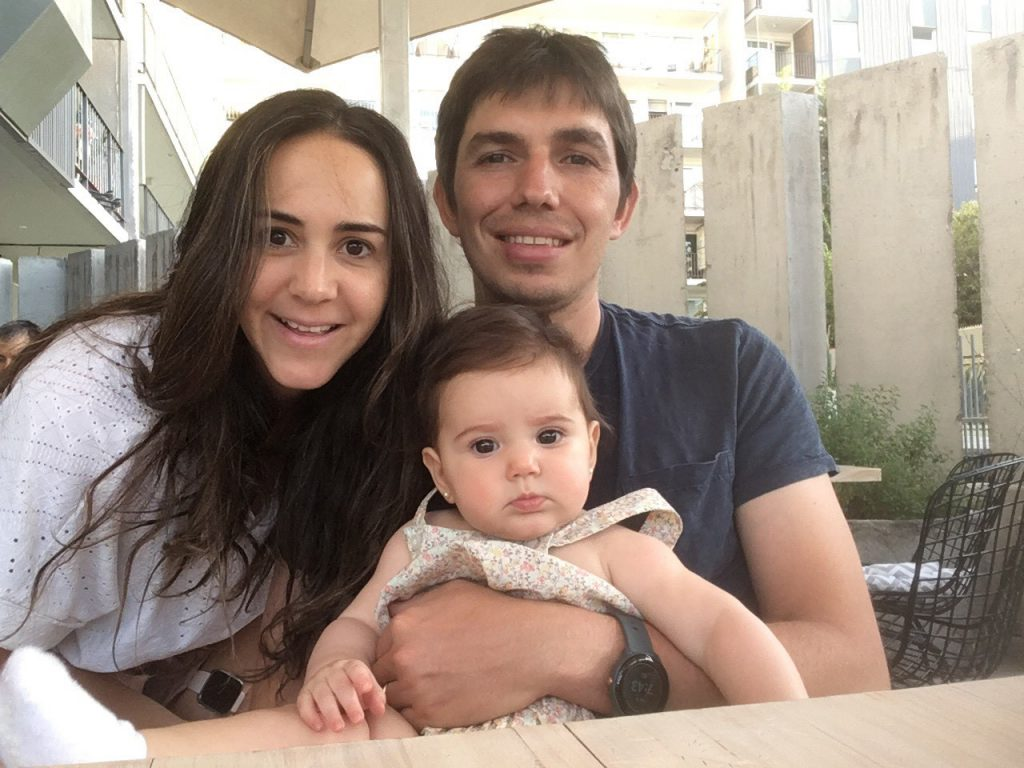 Ivan Rudnick and family